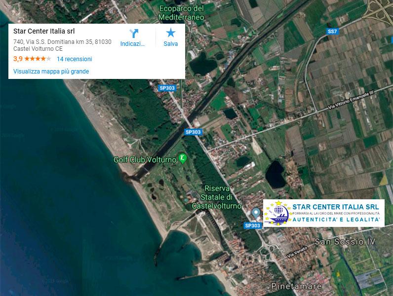 corsi per personale marittimo-mappa